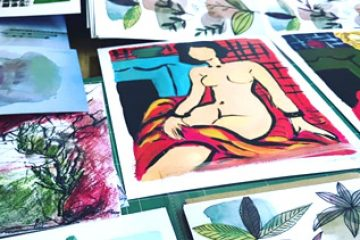האמנות שלי הפכה למוצר מדליק – הדפסים לבית